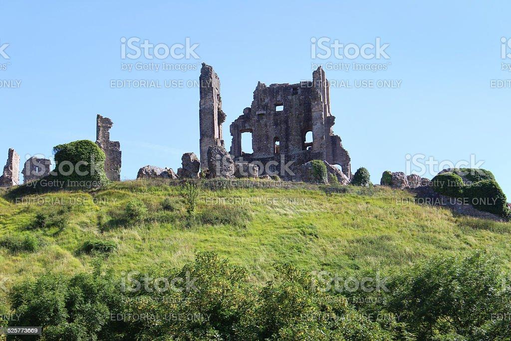 Storico Xi Secolo Rovine Del Castello Di Corfefortificazioni Su ...