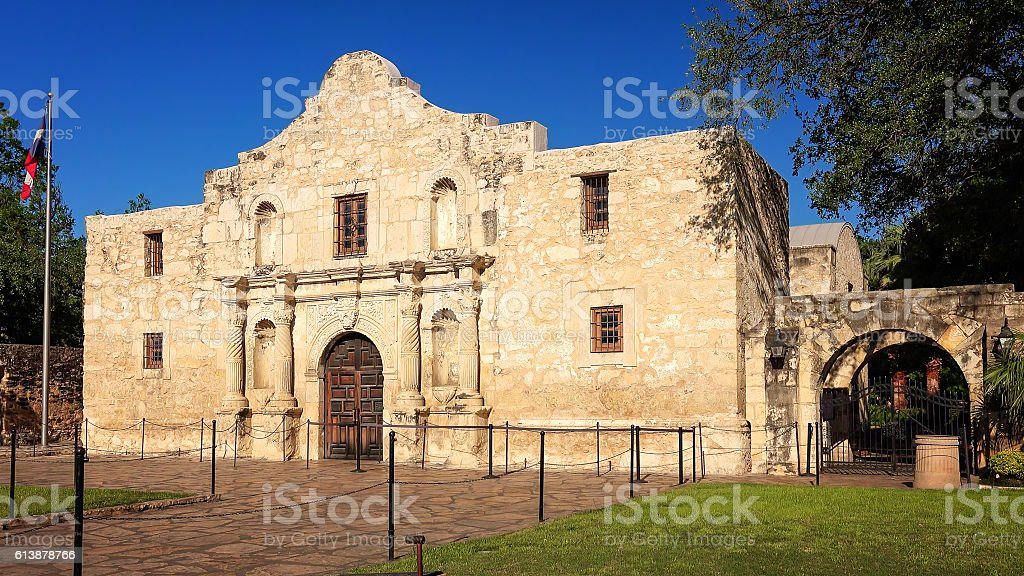 Historic Alamo in San Antonio, Texas stock photo