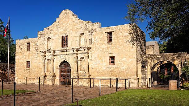 historic alamo in san antonio, texas - the alamo stock photos and pictures