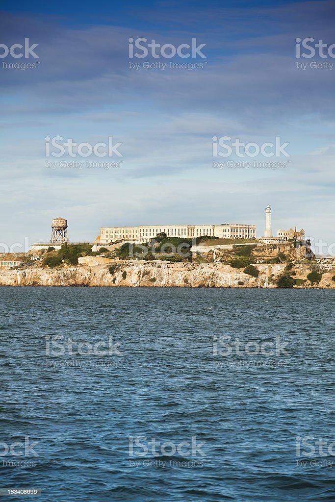 Historic Alcatraz Island stock photo