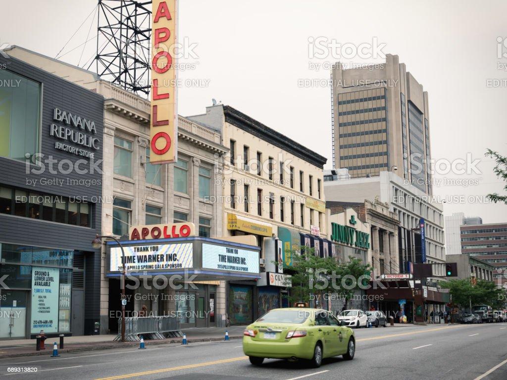 historic Apollo Theater in Harlem, New York City – Foto