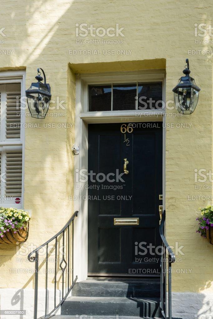 Historic Architecture, Charleston, South Carolina royalty-free stock photo