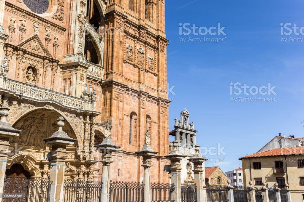 Arquitectura histórica en el centro de Astorga, España - foto de stock
