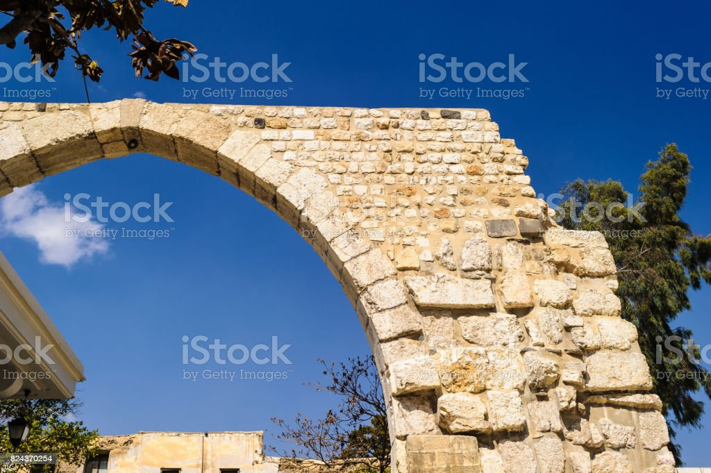 Historic architecture of Damascus, Syria stock photo