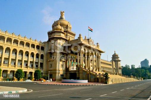 Vidhana Soudha is the largest legislature-cum-office building in India
