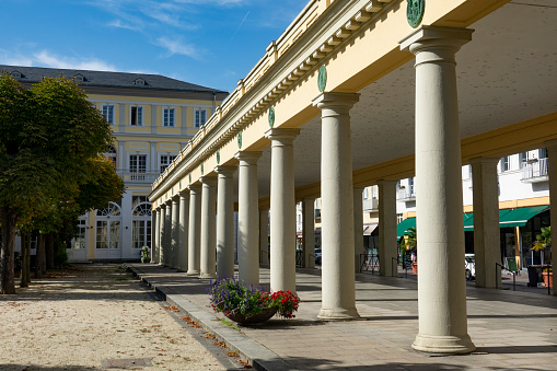 Historic art nouveau colonnade