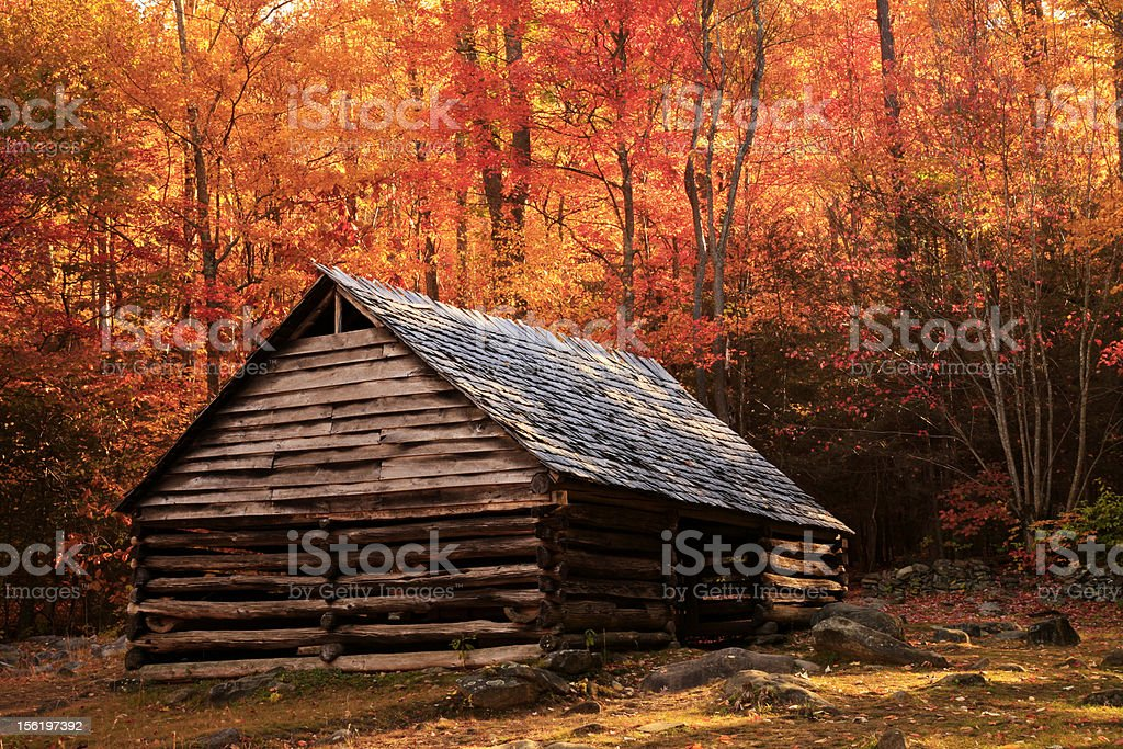 historic barn royalty-free stock photo