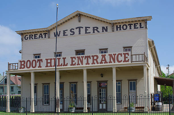 Historic Boot Hill Museum in Dodge City, Kansas