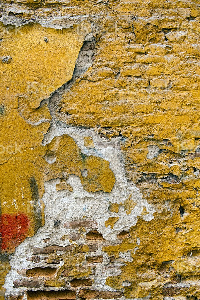 Historic Brick Wall royalty-free stock photo