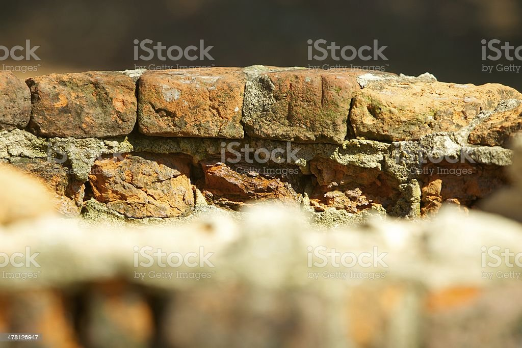 Historic Brick Well stock photo