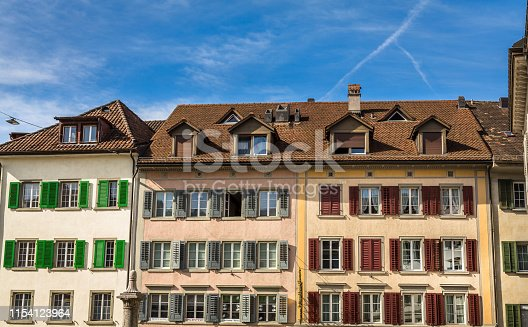 istock Historic Building Facade in Rapperswil 1154123964