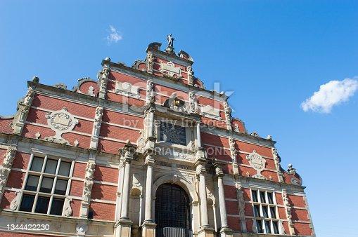 istock Historic building in Copenhagen 1344422230