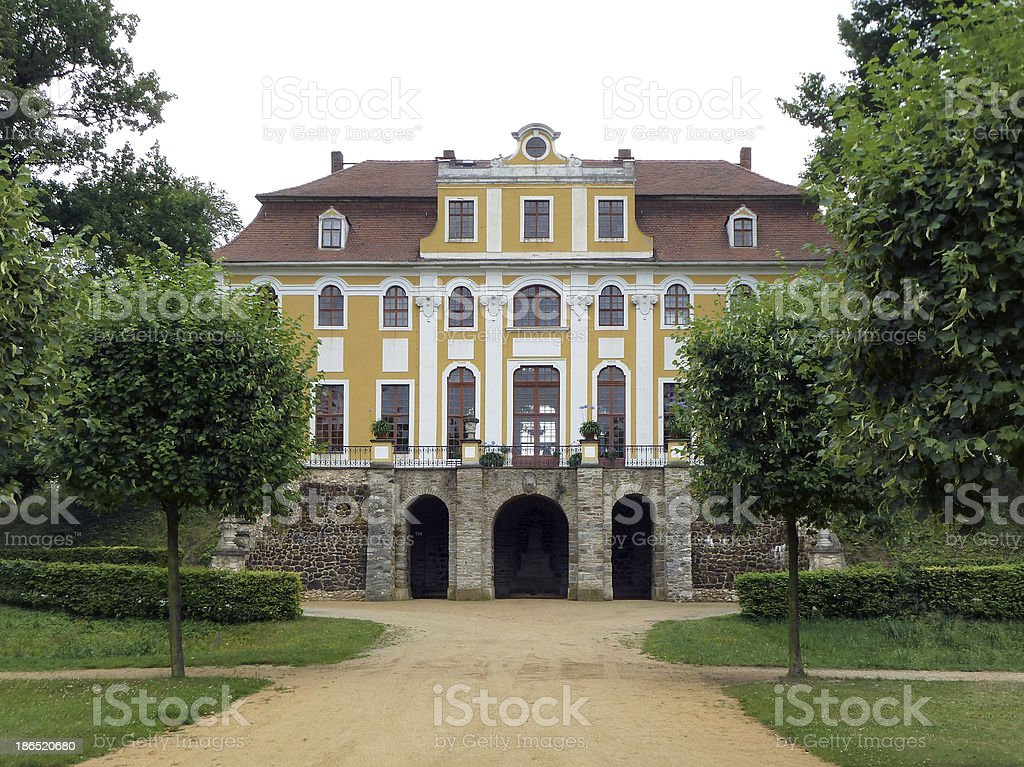 historic building in Dresden royalty-free stock photo