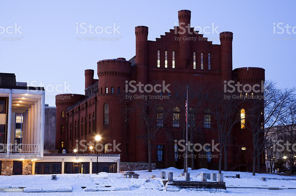 Historic Building in Madison stock photo