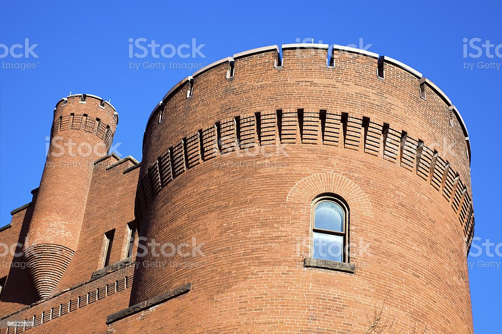 Historic Building in Madison royalty-free stock photo
