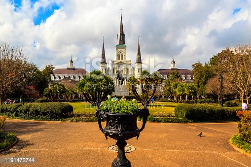 564604962 istock photo Historic Building in the French Quarter in New Orleans, 1191472744