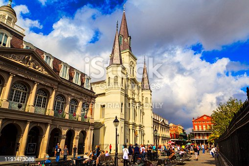 564604962 istock photo Historic Building in the French Quarter in New Orleans, 1191473088