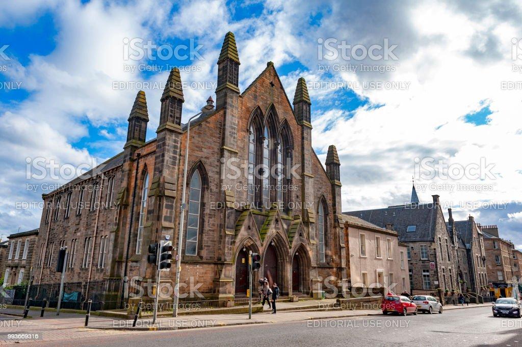 Historic Building Of Dar Al Arqam Mosque And Muslim Welfare House Edinburgh On Lauriston Place