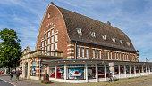 istock Historic building of the maritime museum in Kiel 1220912044