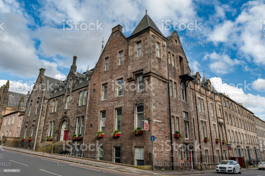 Historic Building On Lauriston Place Currently Served As Leonardo Boutique Hotel Simpson Townhouse Edinburgh UK