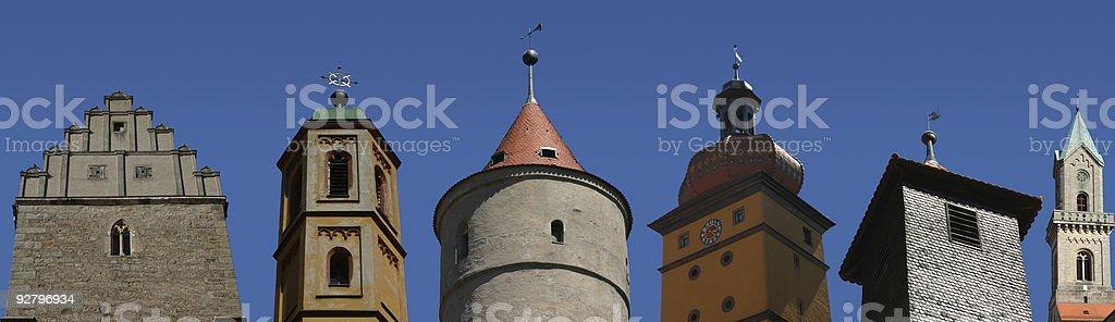 Historische Gebäude tops – Foto