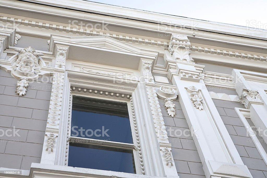 HIstoric Building with Gargoyles royalty-free stock photo