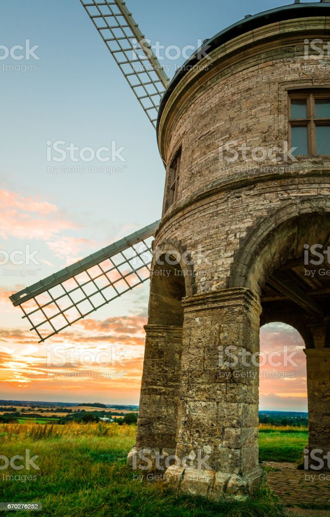 Historic buildings - Chesterton windmill stock photo