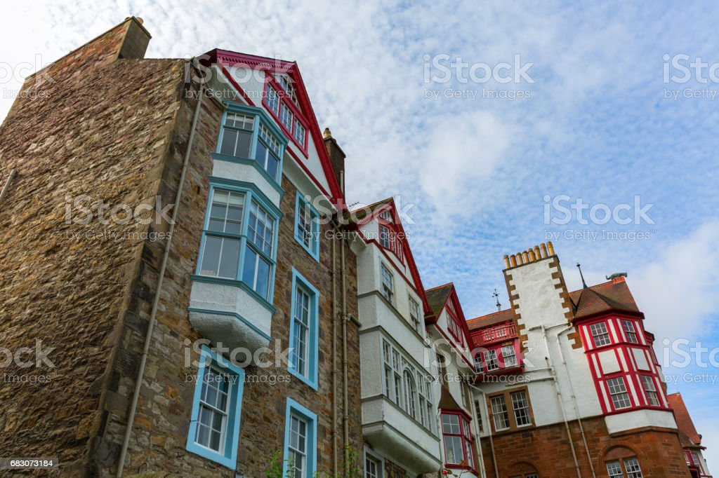 historic buildings in Edinburgh, Scotland foto de stock royalty-free