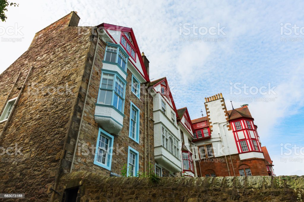 historic buildings in Edinburgh, Scotland foto de stock royalty-free