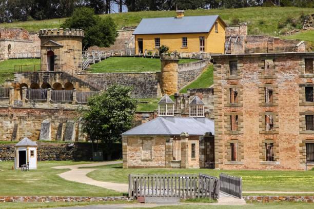 Historischen Gebäuden des World Heritage Site Port Arthur – Foto