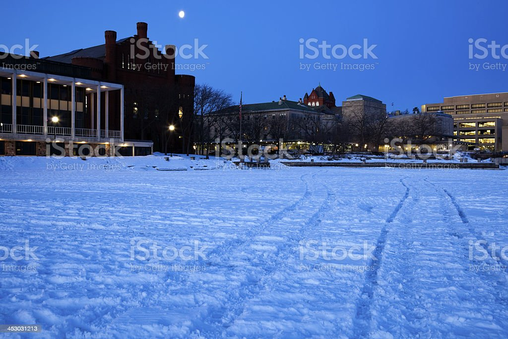 Historic Buildings - University of Wisconsin stock photo