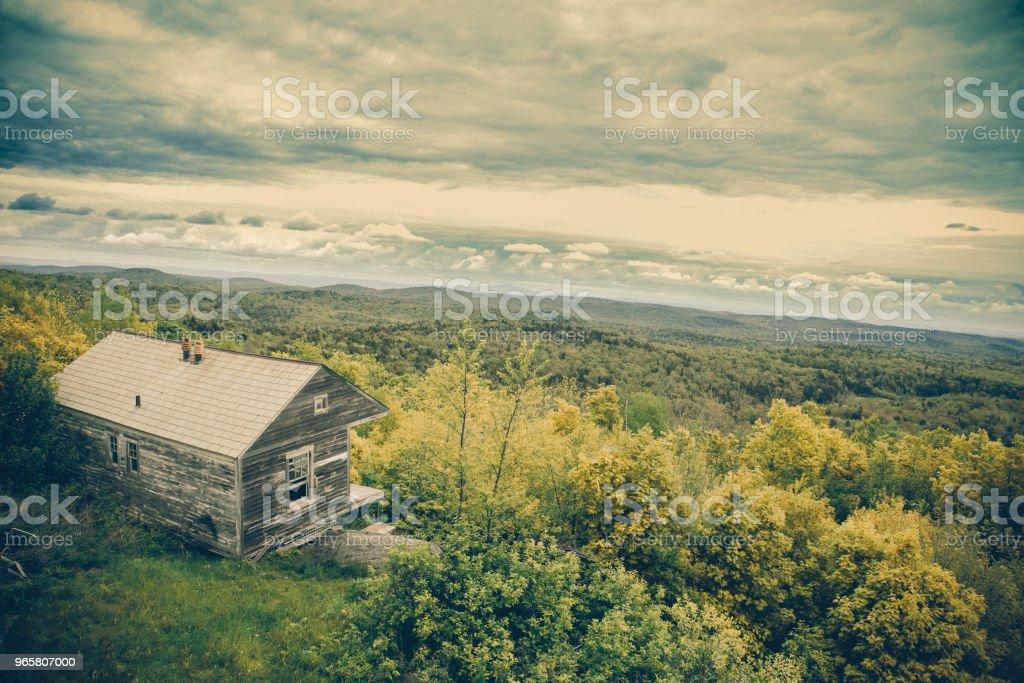 Historic Cabin Vermont - Royalty-free Appalachia Stock Photo
