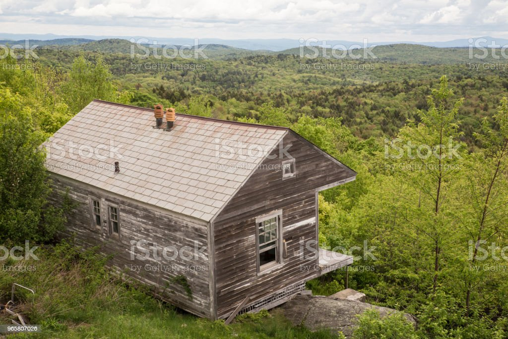 Historic Cabin Vermont - Royalty-free Appalachia Stock Photo