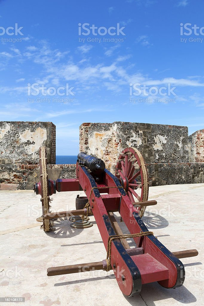 historic cannon royalty-free stock photo