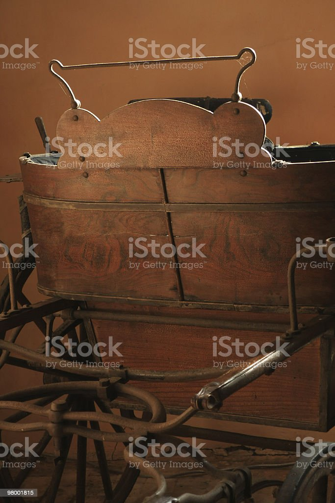Historic Carriage royalty free stockfoto