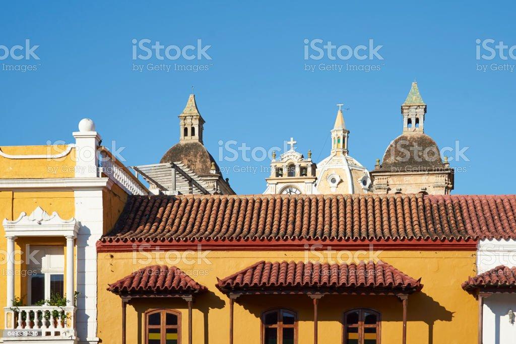 Historic Cartagena de Indias stock photo