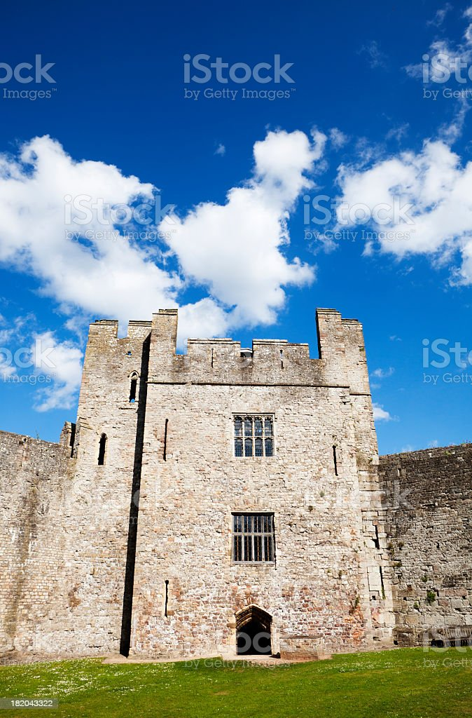 historic castle building royalty-free stock photo