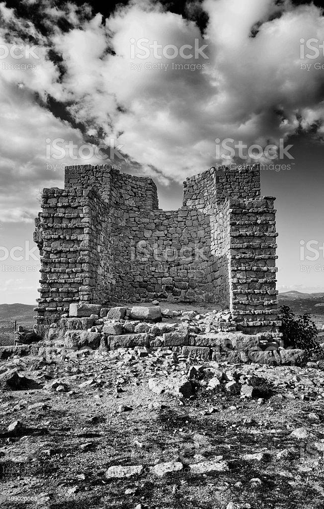 Historic Castle stock photo