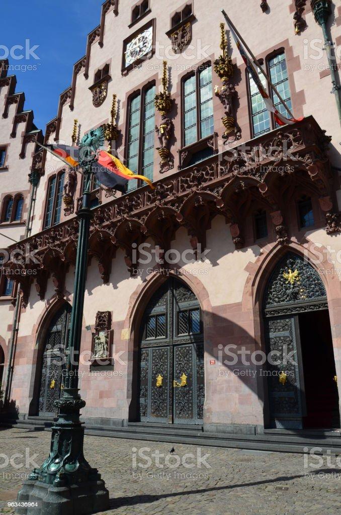 Centre historique de Francfort - Photo de Allemagne libre de droits