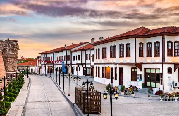 Historisches Zentrum von Ankara, der Hauptstadt der Türkei – Foto