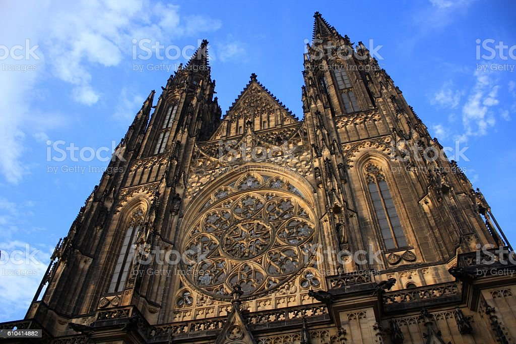 Historic Centre of Praha Czech stock photo