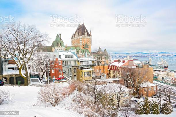 Photo of Historic Chateau Frontenac in Quebec City