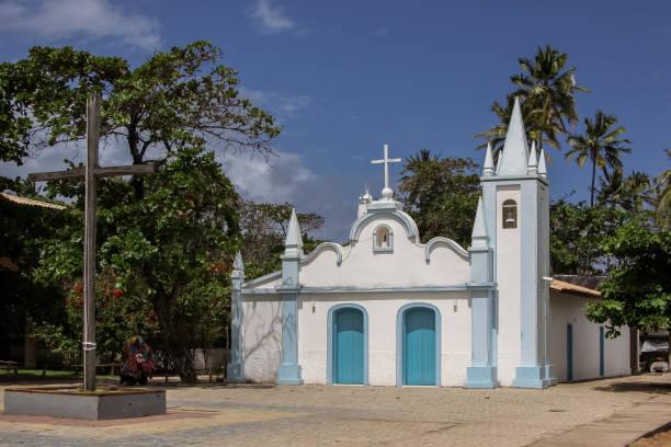 Historische Kirche Igreja de Sao Francicsco in Praia Forte – Foto