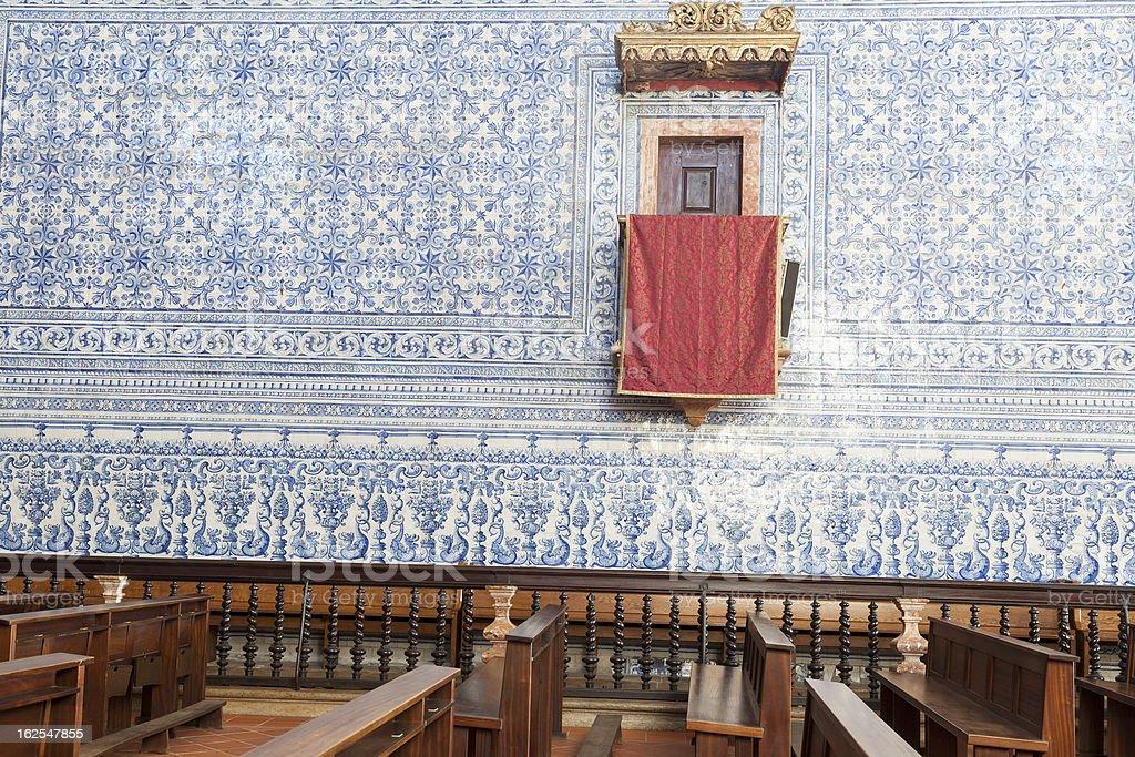 Historic church in Castro Verde, Alentejo, Portugal stok fotoğrafı