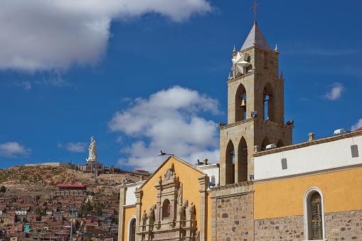 Historic Church in Oruro, Bolivia