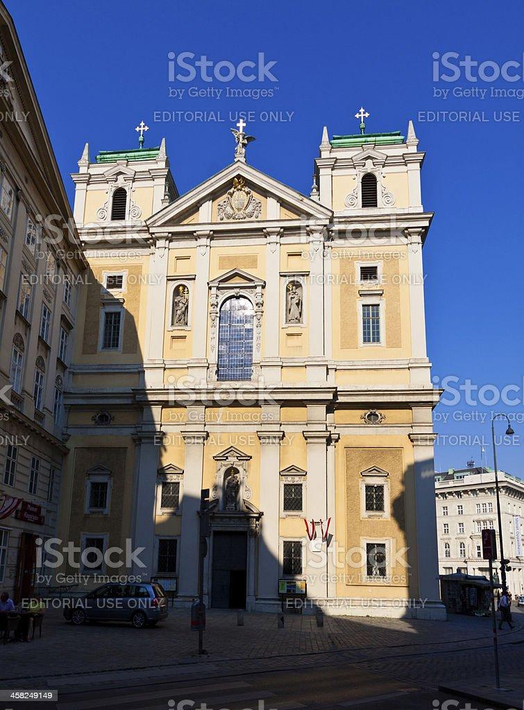 Historic Church in Vienna. royalty-free stock photo
