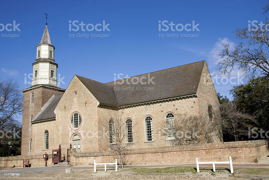 Historic church royalty-free stock photo