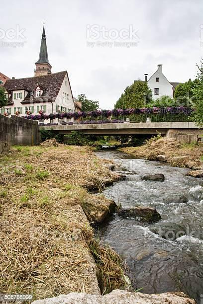 Historische Stadtzentrum Schwabach Stockfoto und mehr Bilder von Alt