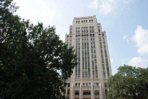 Historic city hall building of Atlanta stock photo