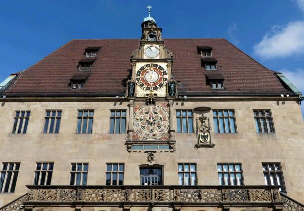 historic city hall, Heilbronn,Germany stock photo